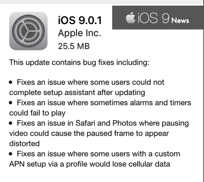new-ios-9.0.1-update